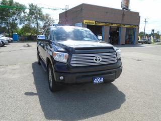 Used 2016 Toyota Tundra Platinum for sale in North York, ON