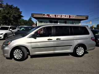 Used 2007 Honda Odyssey LX|3.5L FUEL EFFICIENT| for sale in Mississauga, ON