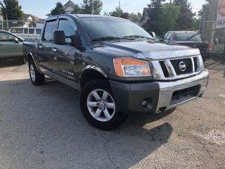 Used 2012 Nissan Titan CREW CAB 4X4 for sale in Surrey, BC