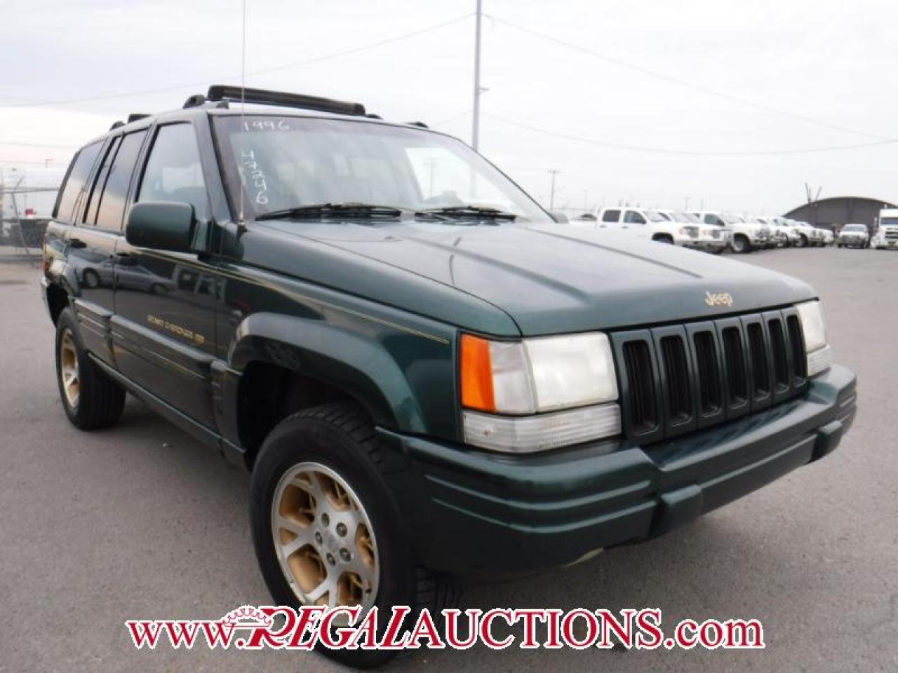 Photo of Green 1996 Jeep Grand Cherokee