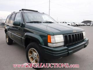 Used 1996 Jeep Grand Cherokee Limited 4D Utility 4WD for sale in Calgary, AB