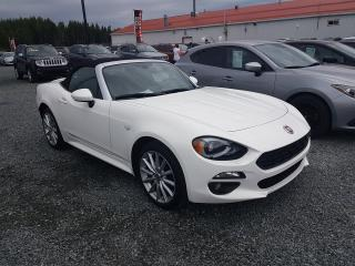 Used 2017 Fiat 124 Spider Lusso for sale in Val-D'or, QC
