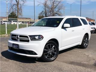 Used 2017 Dodge Durango GT**5.7L**Hemi**Leather**Sunroof**DVD** for sale in Mississauga, ON