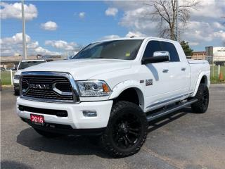 Used 2016 RAM 2500 Longhorn Limited**Leather**NAV**Back UP CAM** for sale in Mississauga, ON