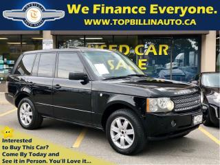 Used 2006 Land Rover Range Rover HSE CLEAN CARPROOF, 2 YEARS WARRANTY for sale in Vaughan, ON