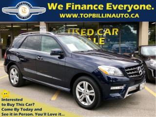 Used 2013 Mercedes-Benz ML-Class ML 350 BlueTEC 4MATIC, Navi, Sport AMG for sale in Vaughan, ON