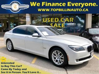 Used 2011 BMW 7 Series Pearl White, HUD, Night Vision for sale in Vaughan, ON