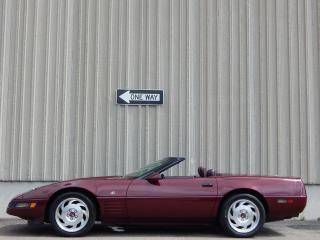 Used 1993 Chevrolet Corvette 40th Anniversary for sale in Etobicoke, ON