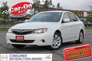 Used 2011 Subaru Impreza AWD AUTO A/C CRUISE ONLY 90,000 KM for sale in Ottawa, ON