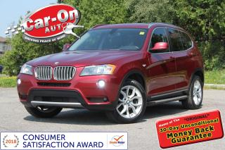 Used 2013 BMW X3 xDrive28i LEATHER PANO ROOF HTD SEATS LOADED for sale in Ottawa, ON