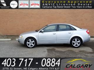 Used 2005 Audi A4 4dr Sdn 1.8T CVT for sale in Calgary, AB