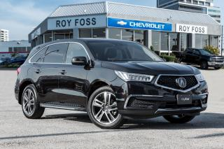 Used 2017 Acura MDX AWD Navigation Leather Rear Camera for sale in Thornhill, ON
