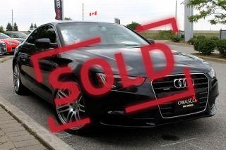 Used 2014 Audi A5 2.0 Komfort for sale in Whitby, ON