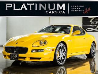 Used 2005 Maserati GranSport COUPE, F1 PADDLE SHIFT, CARBON FIBER, ALCANTARA for sale in Toronto, ON