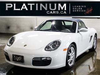 Used 2007 Porsche Boxster 5SP MANUAL, CONVERTIBLE, Leather for sale in Toronto, ON