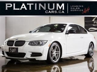 Used 2011 BMW 335i s, 6 SPD, NAV, M SPORT, RED Leather for sale in Toronto, ON