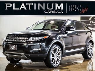 Used 2013 Land Rover Evoque PRESTIGE, AWD, NAV, Backup CAM, Blue Leather for sale in Toronto, ON