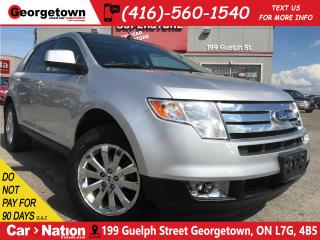 Used 2010 Ford Edge SEL | AWD | LEATHER | PANO ROOF | CHROME WHEELS for sale in Georgetown, ON
