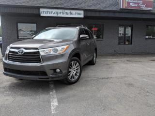 Used 2015 Toyota Highlander Xle Navigation Cuir for sale in Lévis, QC