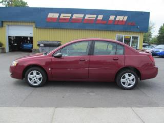 Used 2006 Saturn Ion 1 Base/,2 Midlevel for sale in Quebec, QC