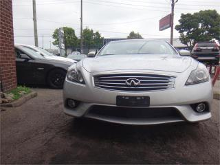 Used 2014 Infiniti Q60 Convertible Sport for sale in Waterloo, ON
