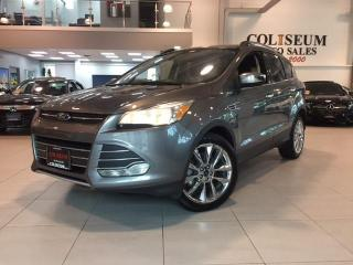 Used 2014 Ford Escape SE-NAVIGATION-REAR CAMERA-SPORT LEATHER for sale in York, ON