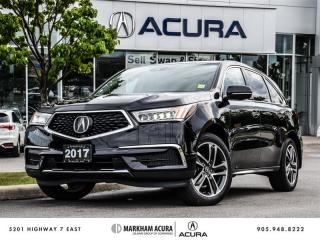 Used 2017 Acura MDX Navi - Blind Spot Indicators | SH-AWD for sale in Markham, ON