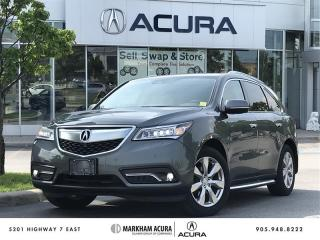 Used 2016 Acura MDX Elite - Elite Package, 360 Camera for sale in Markham, ON