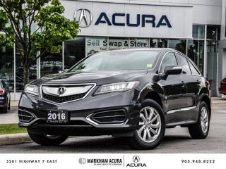 Used 2016 Acura RDX at - One Owner | Power Liftgate for sale in Markham, ON
