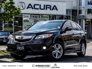 Used 2015 Acura RDX Tech at - Navigation | Power Liftgate for sale in Markham, ON