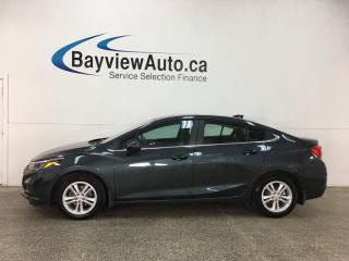 Used 2017 Chevrolet Cruze LT Auto - DIESEL! REM START! TINT! SUNROOF! HTD LTHR! BOSE! WIFI! HTD STRNG WHEEL! for sale in Belleville, ON
