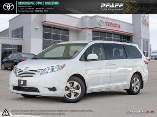 Used 2017 Toyota Sienna LE 8-Passenger V6 for sale in Orangeville, ON