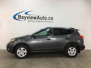 Used 2013 Toyota RAV4 LE - AWD! ECO MODE! REVERSE CAM! BLUETOOTH! for sale in Belleville, ON