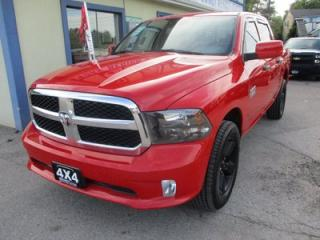 Used 2017 Dodge Ram 1500 'LIKE NEW' TRADESMEN MODEL 6 PASSENGER 3.6L - V6.. 4X4.. CREW.. SHORTY.. BLUETOOTH.. AUX/USB INPUT.. for sale in Bradford, ON