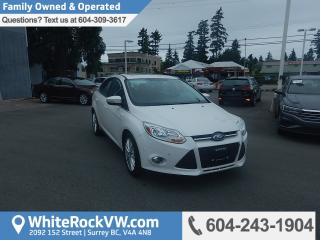 Used 2012 Ford Focus SEL Heated Front Seats, Radio Data System &  Remote Keyless Entry for sale in Surrey, BC