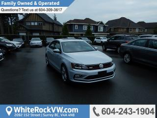 Used 2017 Volkswagen Jetta GLI Autobahn BC Driven, No Accidents, Navigation & Power Moonroof for sale in Surrey, BC