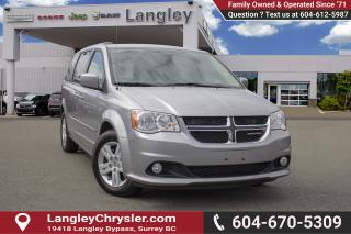 Used 2017 Dodge Grand Caravan Crew <B>*LOCAL *SINGLE OWNER<B> for sale in Surrey, BC