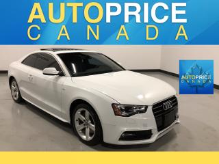 Used 2013 Audi A5 2.0T Premium Plus S-LINE|PANOROOF|NAVIGATION for sale in Mississauga, ON
