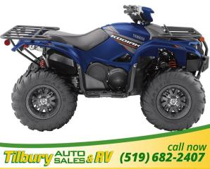 New 2019 Yamaha KODIAK 700 EPS SE1 Big Bore Engine Built to Tackle Anything for sale in Tilbury, ON
