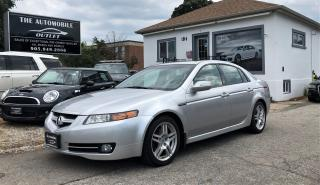 Used 2008 Acura TL TL Tech Pkg NAVI BACK-UP LEATHER NO ACCIDENT for sale in Mississauga, ON
