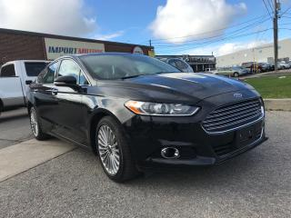 Used 2015 Ford Fusion Titanium, CLEAN CARPROOF for sale in North York, ON
