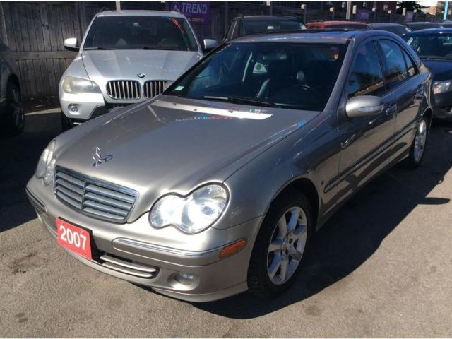 2007 Mercedes-Benz C280 3.0L/4Matic/Leather/Sunroof/Dual-Zone-Climate/MINT