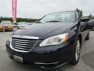 Used 2011 Chrysler 200 TOURING CONVERTIBLE / LOW MILEAGE for sale in Newmarket, ON