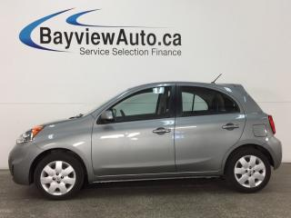 Used 2015 Nissan Micra SV - 1.6L! AUTO! A/C! BLUETOOTH! CRUISE! PWR GROUP! for sale in Belleville, ON