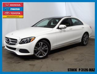 Used 2015 Mercedes-Benz C-Class C300|awd|gps|caméra for sale in Drummondville, QC