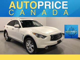 Used 2015 Infiniti QX70 Base NAVIGATION|REAR CAM|LEATHER for sale in Mississauga, ON