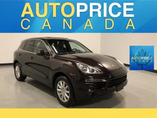 Used 2014 Porsche Cayenne Base MOONROOF|NAVIGATION|LEATHER for sale in Mississauga, ON