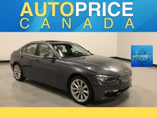 Used 2014 BMW 328i xDrive MOONROOF|NAVIGATION|LEATHER|ONE OWNER CLEAN CARPROOF for sale in Mississauga, ON