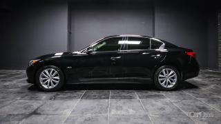 Used 2017 Infiniti Q50 3.0T HEATED SEATS | PUSH TO START | DUAL CLIMATE | LEATHER | AWD | 3.0L TWIN TURBO | DUAL SCREEN for sale in Kingston, ON