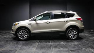 Used 2017 Ford Escape Titanium LEATHER | DUAL CLIMATE | HEATED SEATS | HANDS FREE | PUSH TO START | BACK UP CAM for sale in Kingston, ON